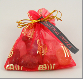 Feng Shui Stones Pouch