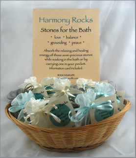 Harmony Rocks Display Basket